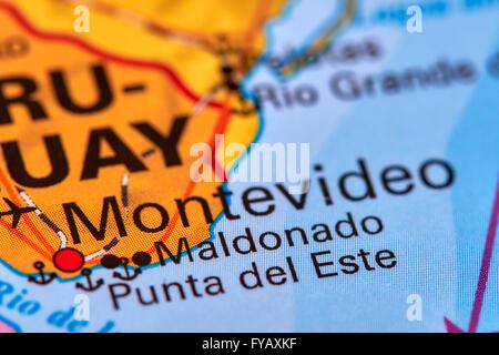 Uruguay Montevideo capital city Stock Photo Royalty Free Image