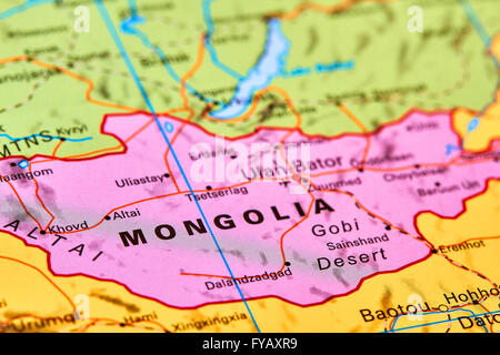 Mongolia country in asia on the world map stock photo 102888110 mongolia country in asia on the world map stock photo gumiabroncs Gallery