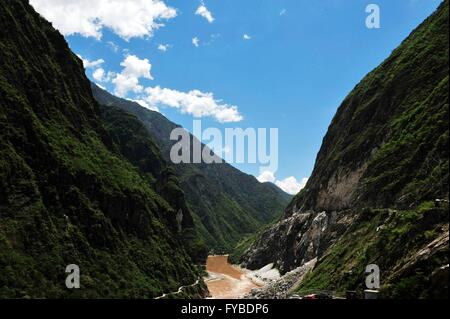 July 25, 2015 - Diqing Tibetan Autonomous Prefec, Diqing Tibetan Autonomous Prefec, CHN - Diqing Tibetan Autonomous - Stock Photo
