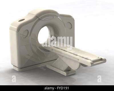 computed axial tomography ct or cat scanner - Stock Photo