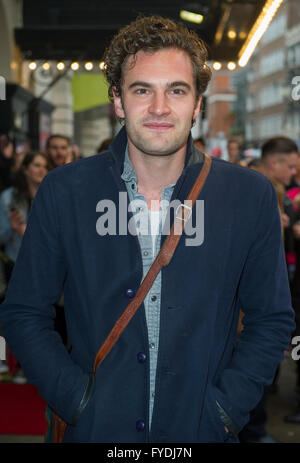 London, UK. 25th April, 2016. Gala Night performance of 'Doctor Faustus' at The Duke Of York's Theatre on April - Stock Photo