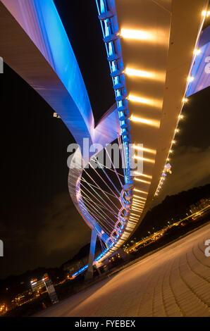 Bridges - connecting people - Stock Photo