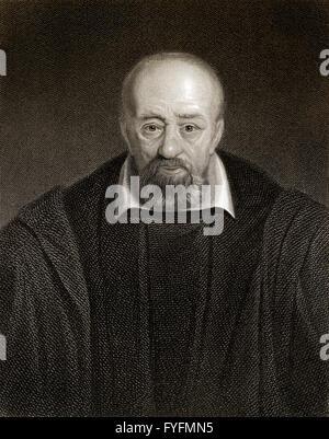 George Buchanan,  1506-1582, a Scottish historian and humanist scholar - Stock Photo