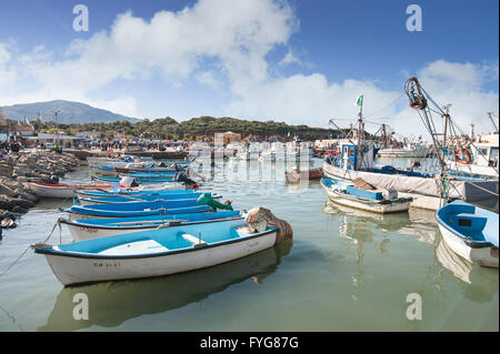 Port of Tipaza(Tipasa). The Urban County seat is Khemisti City, there are two secondary cities, K - Stock Photo
