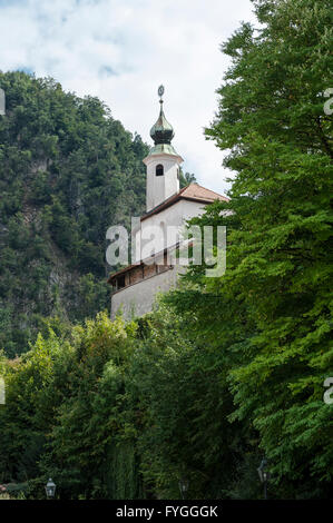 Little castle, Kamnik, Slovenia, Europe - Stock Photo