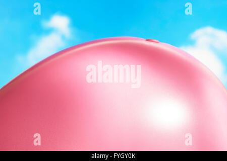 Ballooned Belly on Beach Obesity - Stock Photo