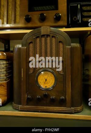 Radio receiver RCA Model 143  Tombstone Radio (1934) - Stock Photo