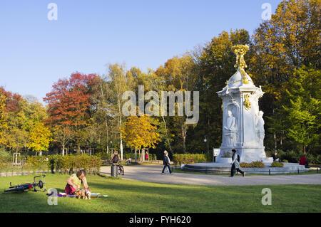Beethoven-Haydn-Mozart Monument, Berlin, Germany - Stock Photo