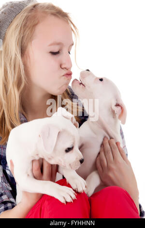 My puppy wants to play - Stock Photo
