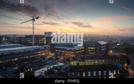St George's Hospital, a major accident and emergency hospital and trauma centre in South London. - Stock Photo