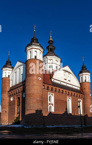 Lavra - the large Monastery of the Annunciation in  Suprasl - Poland XVI century - Stock Photo