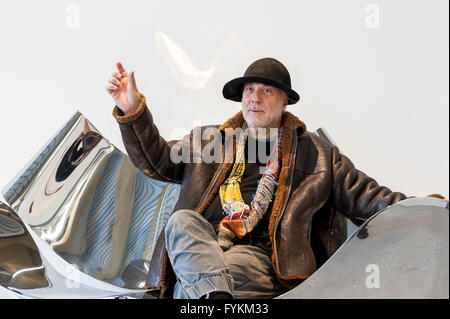 Acclaimed Designer, Ron Arad, Sits On