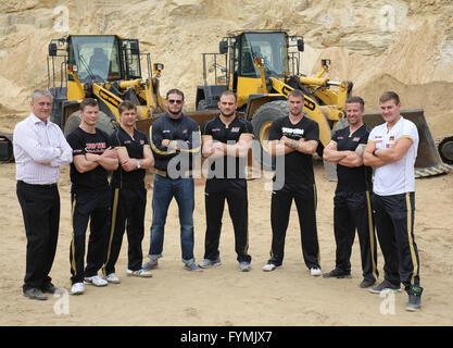 SES Boxing Team - Stock Photo