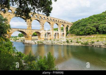 Pont du Gard, Languedoc Roussillon region, France, Unesco World Heritage Site