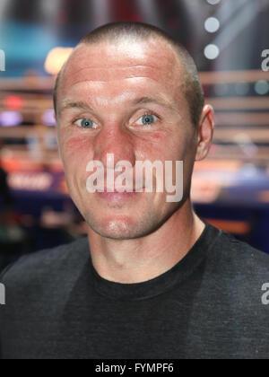 Boxer Sebastian Sylvester (Team Sauerland) - Stock Photo