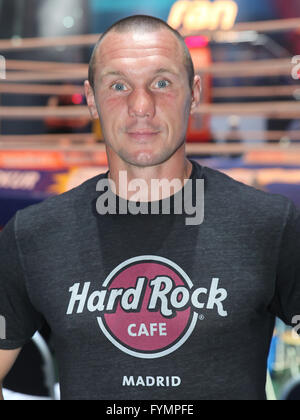 Boxer Sebastian Sylvester (Team Sauerland) - Stock Photo