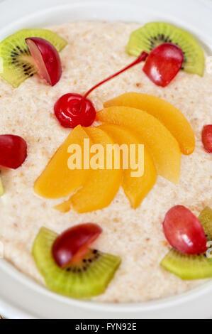 Tasty oatmeal - Stock Photo