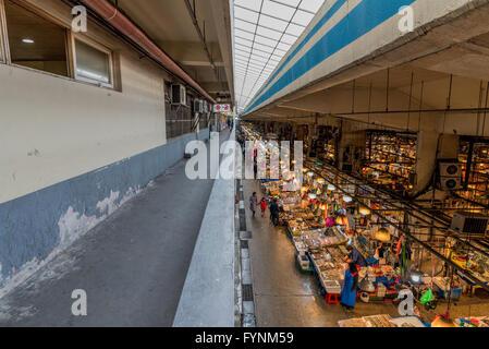 Noryangjin Fisheries Wholesale Market in Seoul, South Korea - Stock Photo