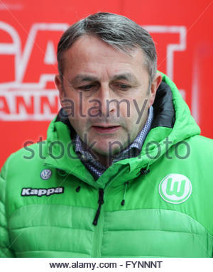 Klaus Allofs (VfL Wolfsburg) - Stock Photo