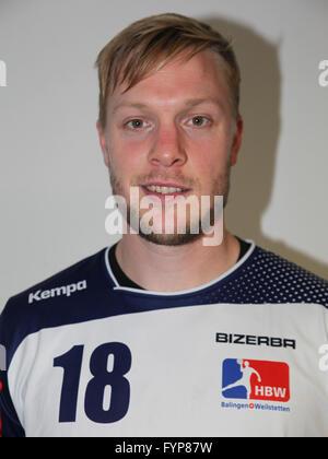 Julian Krieg (HBW Balingen-Weilstetten) - Stock Photo