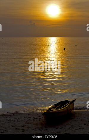 asia   the  kho phangan bay isle   and south china  sea - Stock Photo