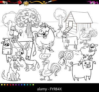 sheep characters coloring book Stock Photo, Royalty Free Image ...