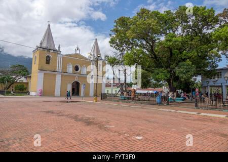 The Cathedral San Juan Bautista In The Centre Of Trujillo, Honduras