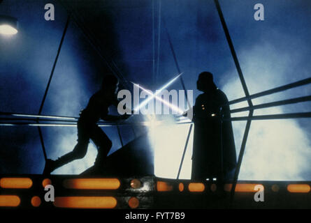 The Empire Strikes Back (also known as Star Wars: Episode V – The Empire Strikes Back) is a 1980 American epic space - Stock Photo