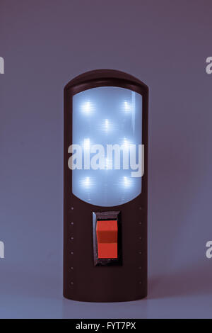 Rechargeable Torch with LED lights - Stock Photo