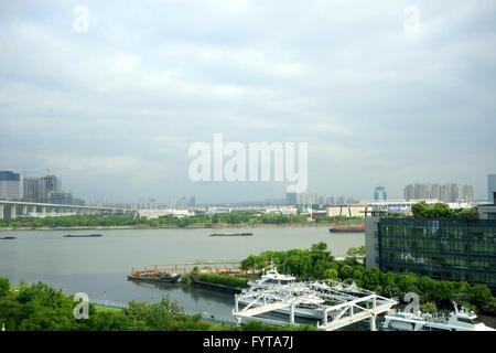 port in shanghai - Stock Photo