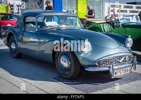 Sports car Daimler Dart SP 250 Hardtop, 1961. - Stock Photo