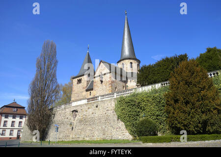 monastery of fulda - Stock Photo
