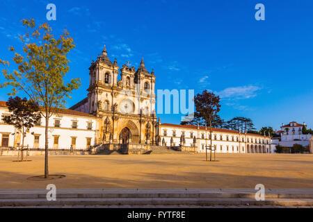 Monastery in Alcobaca - Stock Photo