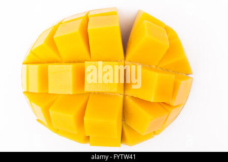 Mango Cubes - Stock Photo