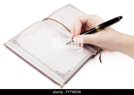 Diary Note - Stock Photo
