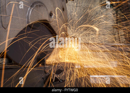 Metal Cutting - Stock Photo