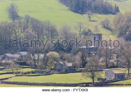 Kirkby Malham North Yorkshire England UK - Stock Photo