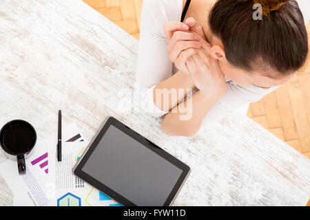 Developing a Business Plan - Stock Photo