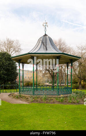Victorian Bandstand, located in Mowbray Park, Sunderland, Tyne & Wear - Stock Photo