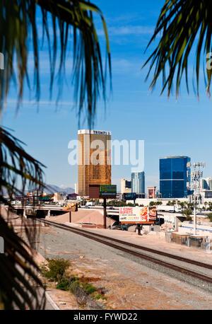 Trump Tower In Las Vegas, Nevada - Stock Photo
