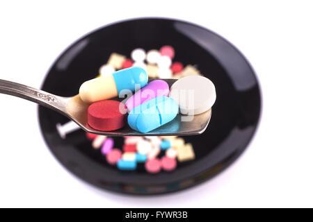 Full Spoon Closeup - Stock Photo