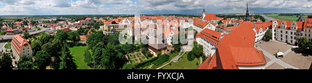 Old part of town, Torgau, Saxony, Germany - Stock Photo