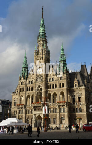 Townhall, Liberec, Czechia - Stock Photo