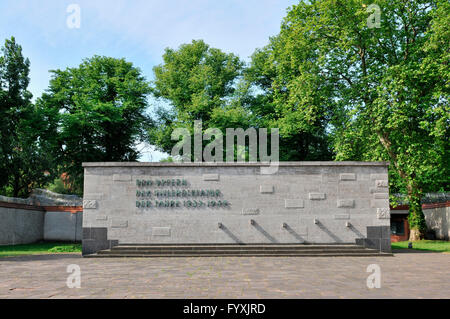 Memorial site Plotzensee, Charlottenburg, Berlin, Deutschland / Gedenkstätte, Plötzensee - Stock Photo