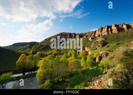 Eurasia, Caucasus region, Armenia, Syunik province, scenery near Shaki