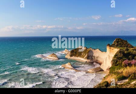 Corfu coast - Stock Photo