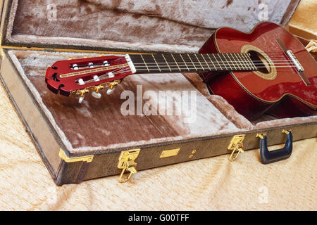 Acoustic guitar. Stock Photo