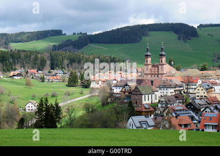 St. Peter in the Black Forest - Stock Photo