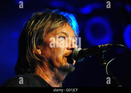 Chris Norman (Smokie): EUROPA, DEUTSCHLAND, HAMBURG, 15.11.2015: Chris Norman live in der Großen Freiheit 36. Editorial - Stock Photo