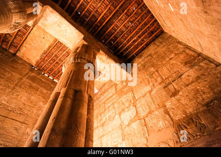 Temple of Luxor at night, Luxor city, Egypt - Stock Photo